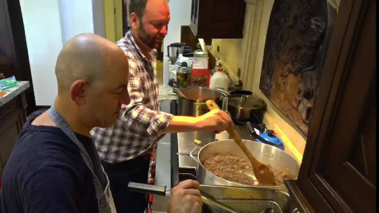 "You might enjoy seeing this terrific video made by ProducerGirl Productions of the dinner I prepared for the UCLA History Department based on Prof.  Paul Freedman's excellent book called, ""Ten Restaurants That Changed America.""  Special thanks to Jos"