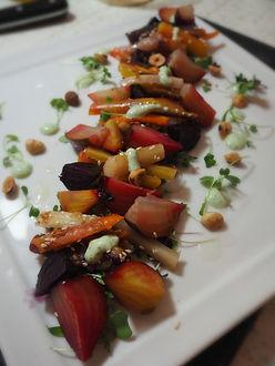 Simon Majumdar's Roasted Beet and Sesame Carrot Salad
