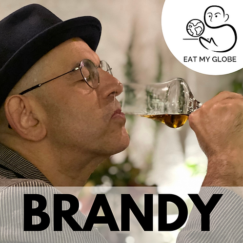 Brandy - EAT MY GLOBE by Simon Majumdar