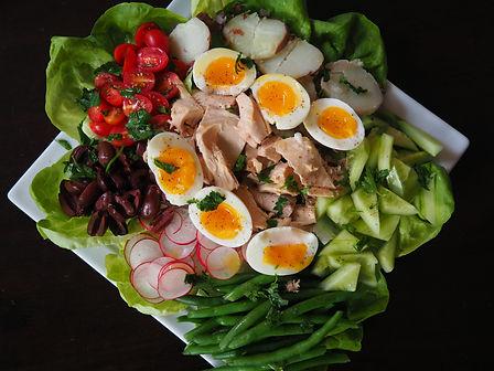 Simon Majumdar's Nicoise Salad.