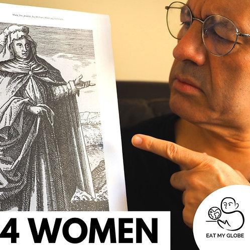 4 Women in Food History - EAT MY GLOBE by Simon Majumdar