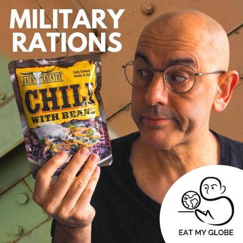 Military Rations - EAT MY GLOBE by Simon Majumdar