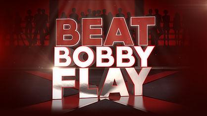 Beat Bobby Flay sign