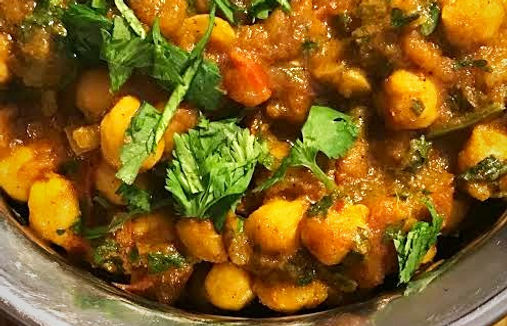 Simon Majumdar's Channa Masala recipe