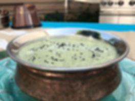 Simon Majumdar's Mint, Chili, and Garlic Dip recipe