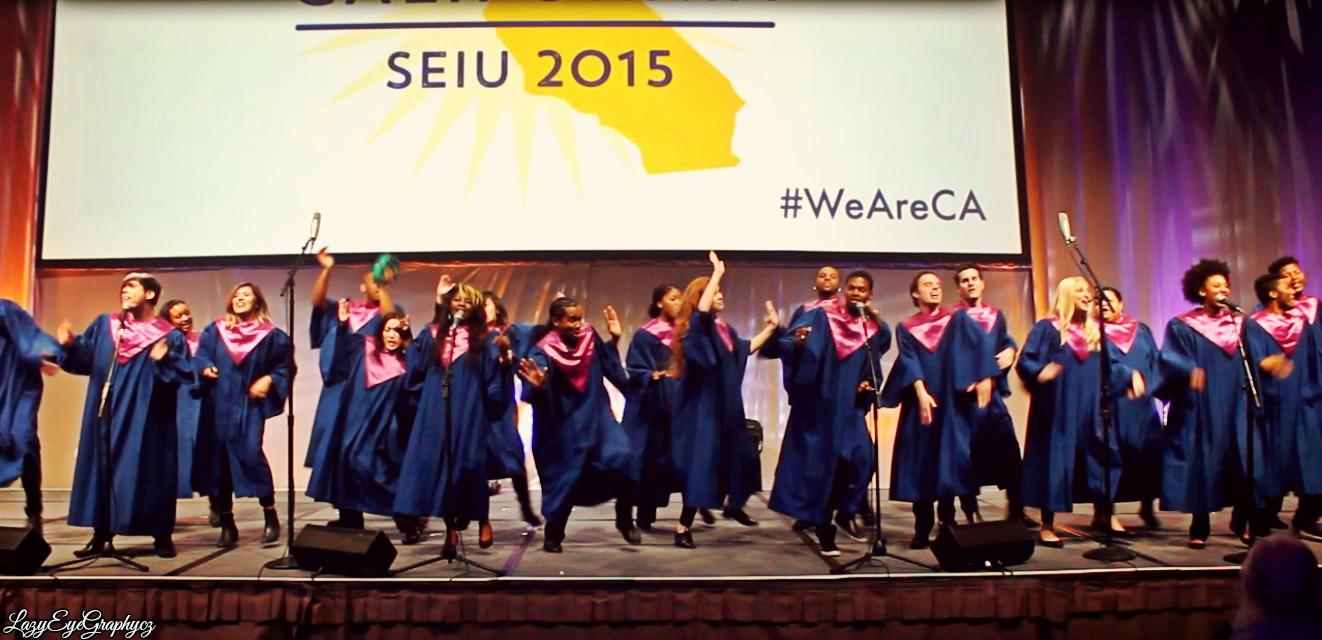 RAISE at SEIU Conference