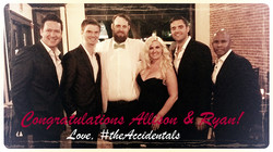 #TheAccidentals Paso Robles Alli & Ryan's Rehearsal Dinner w text