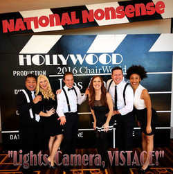 National Nonsense sings for Vistage WorldChair 2016