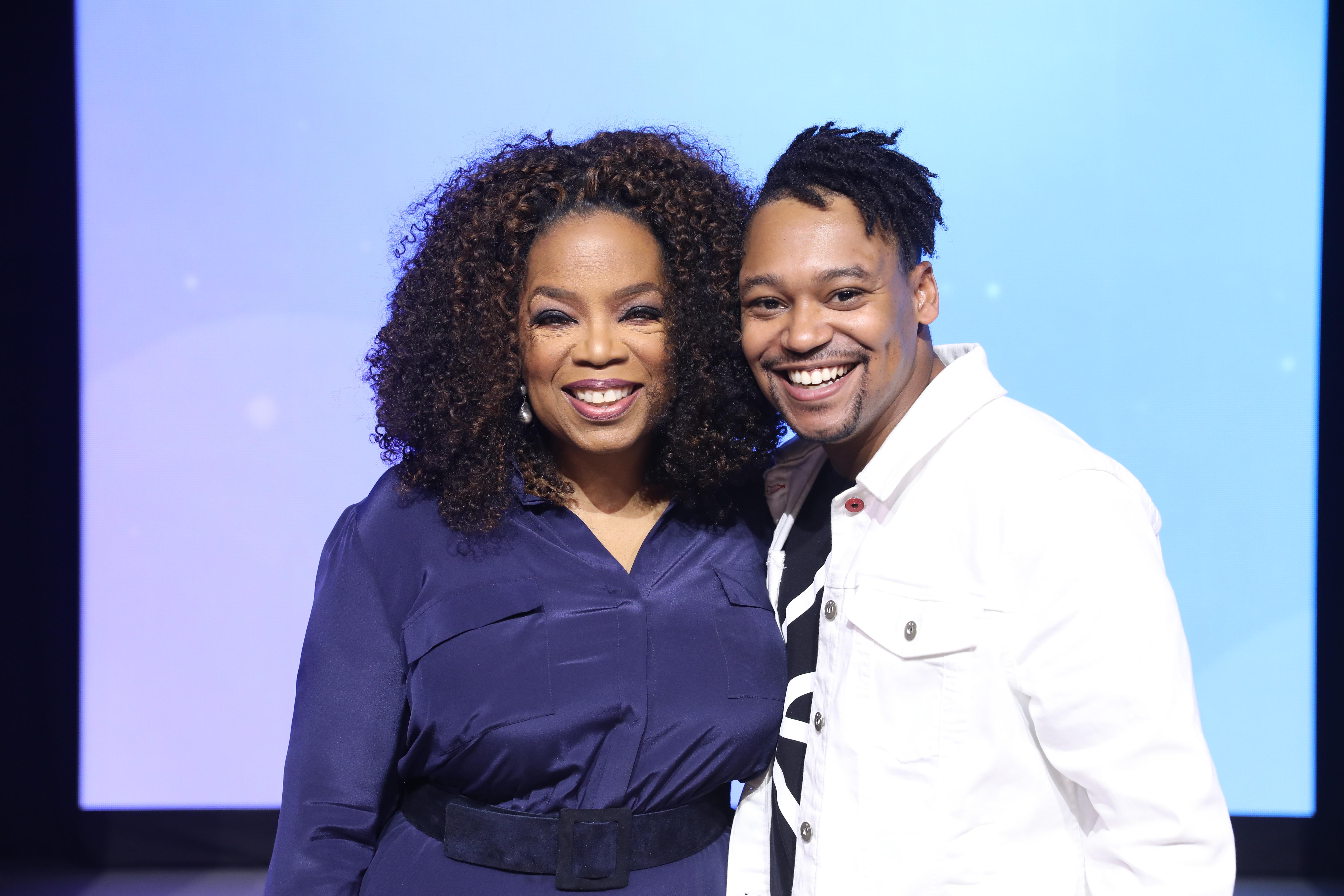 Oprah w Derek