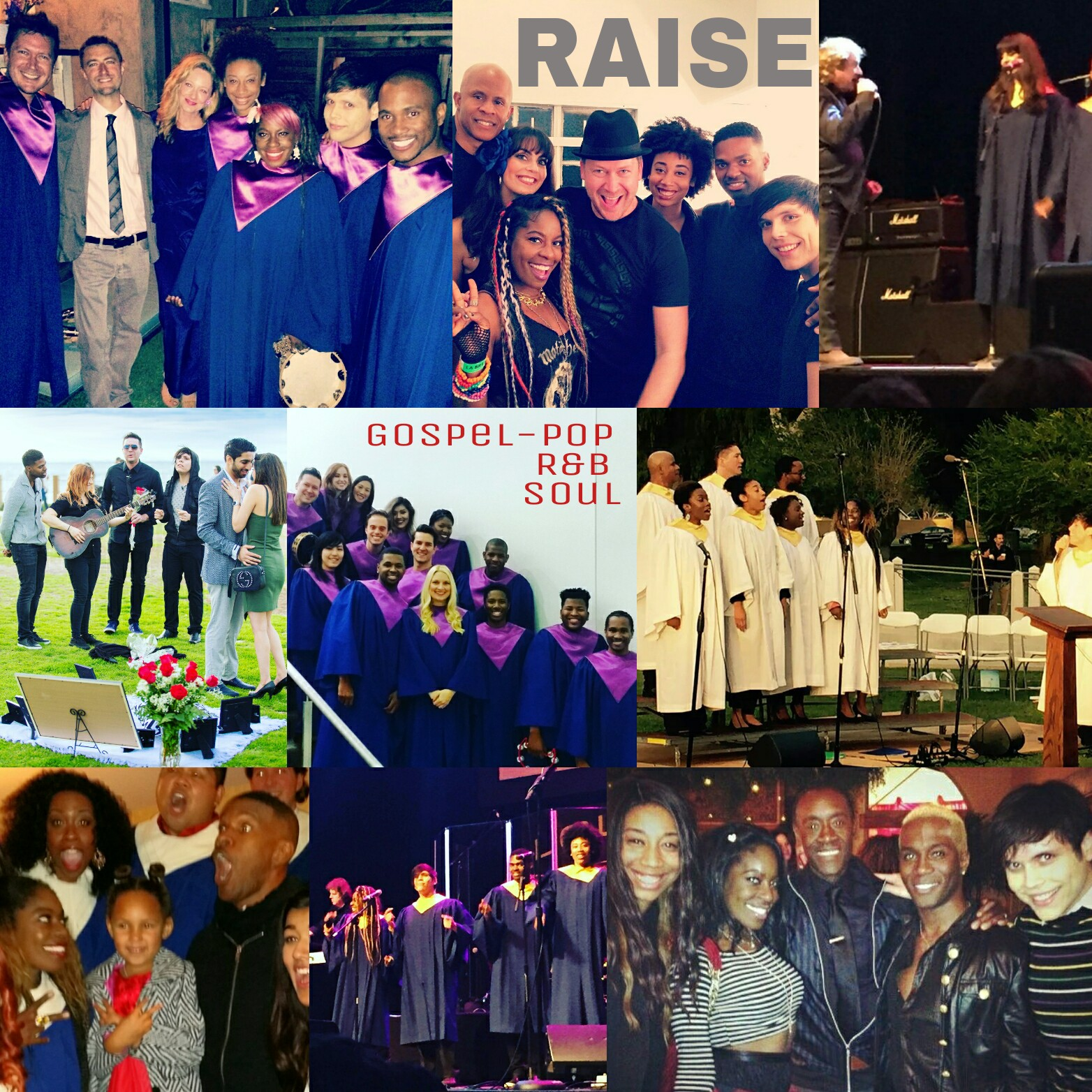 RAISE collage