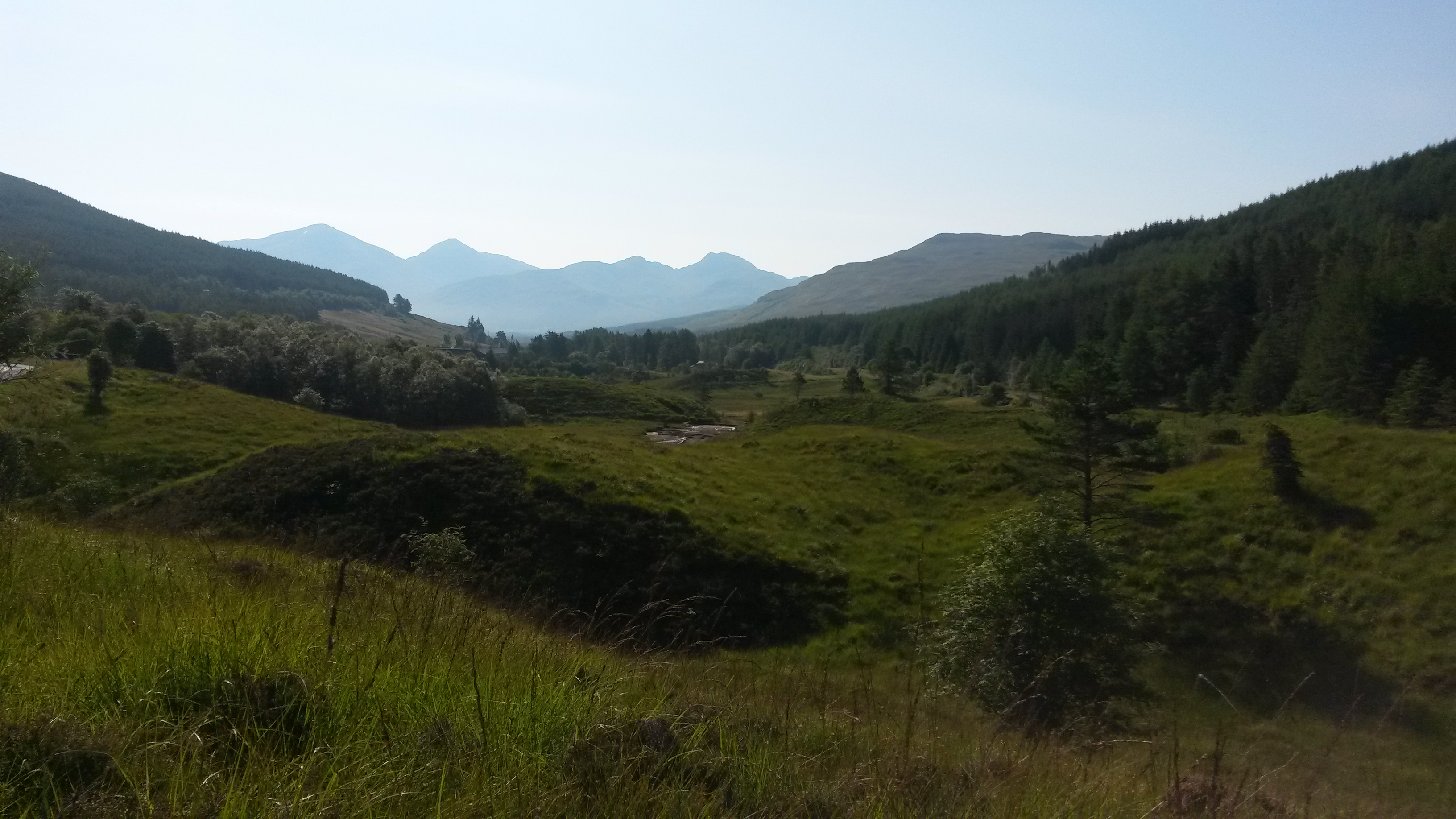 Behind Tyndrum