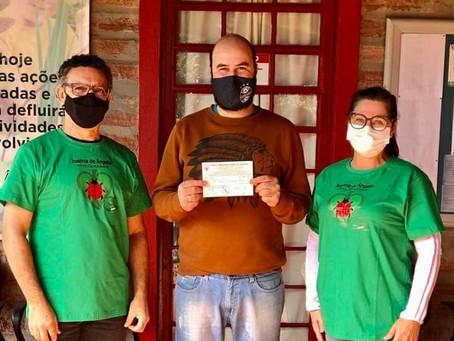 Ação solidária arrecada mais de 800 reais para a horta