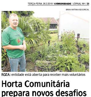 Horta no Jornal