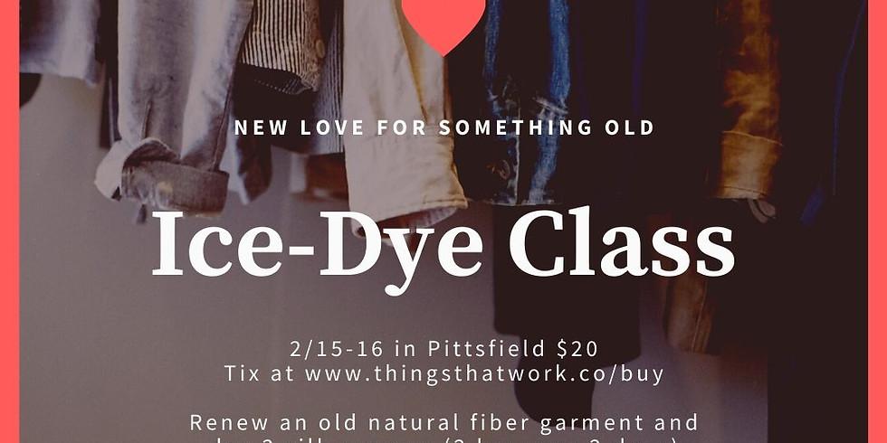 Ice Dye Workshop 2020