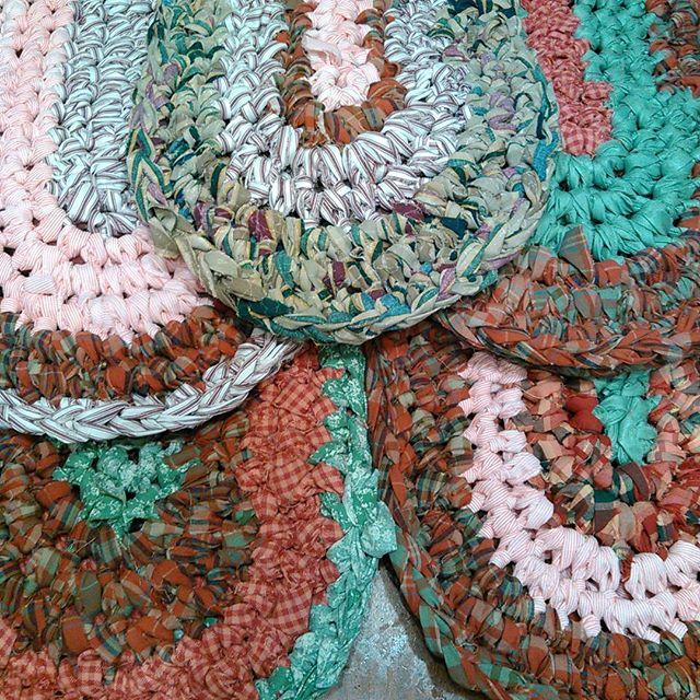 Rag rug heaven #handmadeholidayfestival