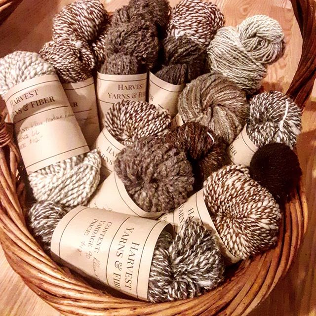 They're ready,  small batch handspun..