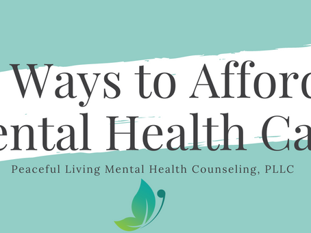 5 Ways to Afford Mental Health Therapy