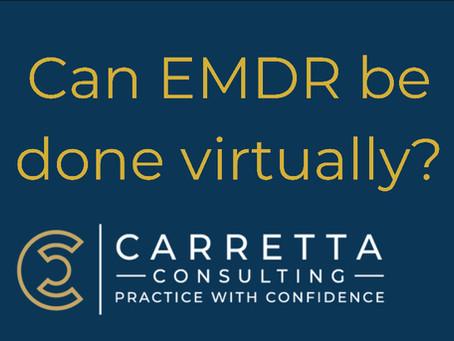 How to do EMDR Virtually