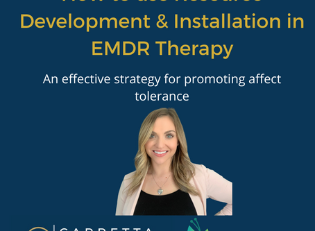 How to Use Resource Developement & Installation in EMDR Therapy
