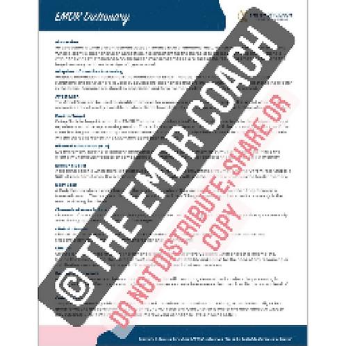 EMDR Dictionary