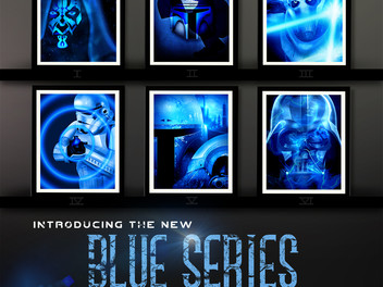 """Herofied Star Wars Inspired """"Blue Series"""""""
