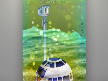 """HEROFIED is fully commited to supporting the """"Droids Have Rights 2 Campaign."""""""