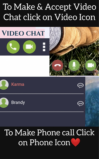 How to make video chat call