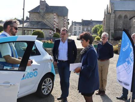 À Bourbriac, une voiture électrique à disposition des habitants, en location