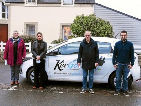 La voiture électrique en autopartage déboule au Juch