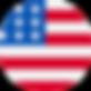 Drapeau des USA où nous proposons des véhicules électriques en autopartage