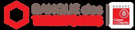 Logo de notre partenaire la Banque des Territoires pour promulguer l'électromobilité avec la mise en place de services d'autopartage de véhicules électriques et la recharge intelligente en zone rurale et périurbaine