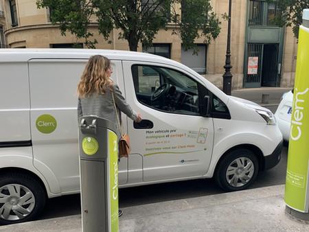 Paris : Clem déploie près de 300 véhicules utilitaires électriques en libre-service