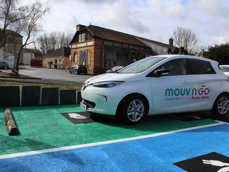 Autopartage : Bientôt deux voitures mouv'nGo au parc du château de Bonnétable