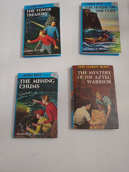 The Hardy Boys by Franklin W. Dixon (#1-2,4,43)