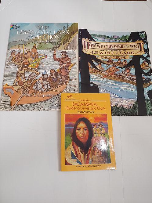 Lewis, Clark & Sacajawea Books