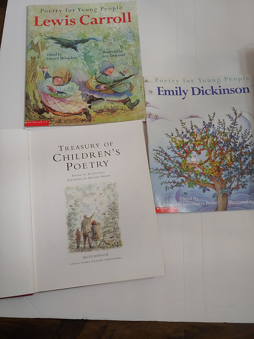 Poetry Book Set (Elementary)