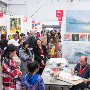 Want to exhibit your artwork at an art fair? Tips on how to prepare your application