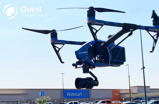 Walmart Tests Drones to Deliver Covid-19 Kits