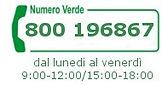 Numero Verde Stock Elettrico