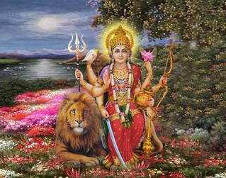 Mulher: a Ashtabhuja