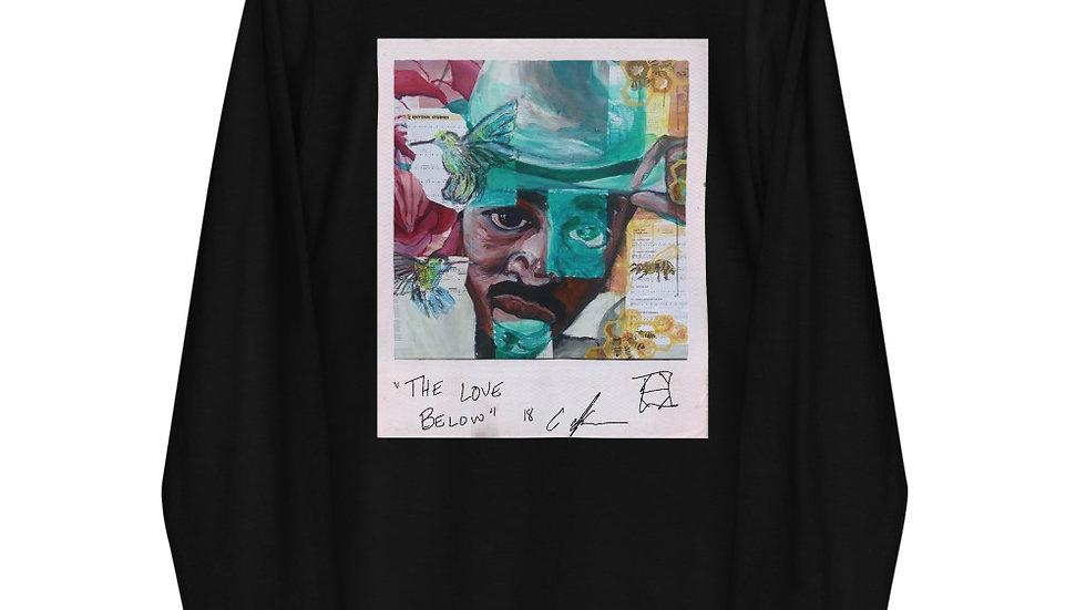 """""""The Love Below"""" Long sleeve t-shirt"""