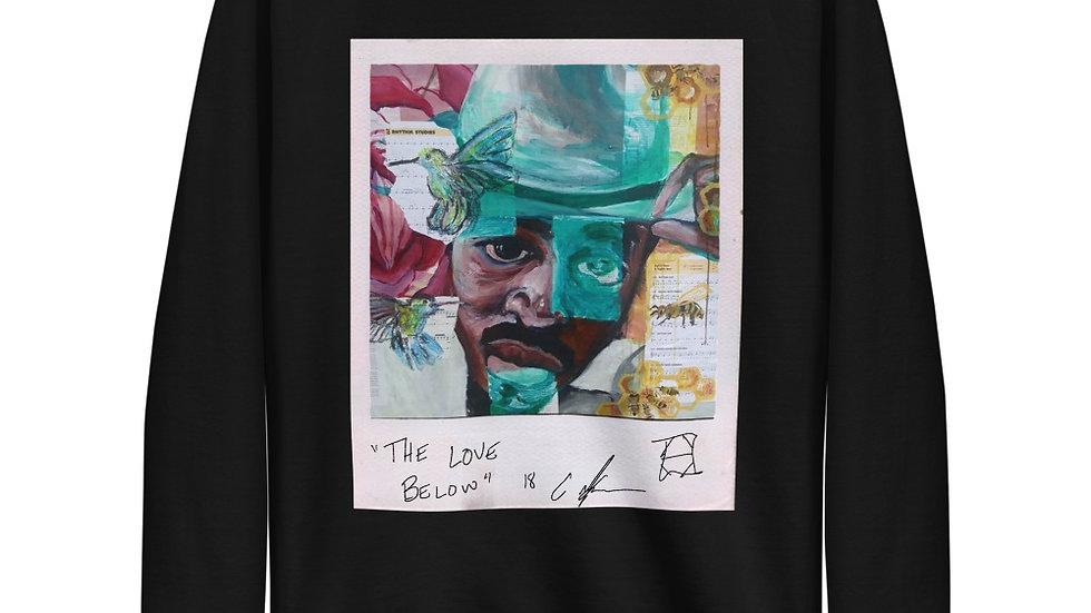 """""""The Love Below"""" Unisex Fleece Pullover"""
