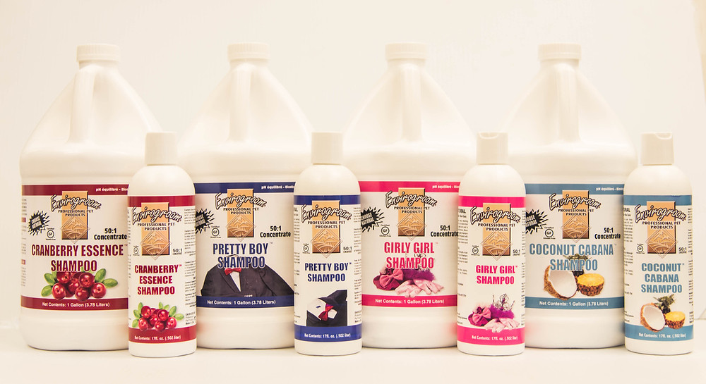 envirogroom fragranced collection pet shampoos love da pawz