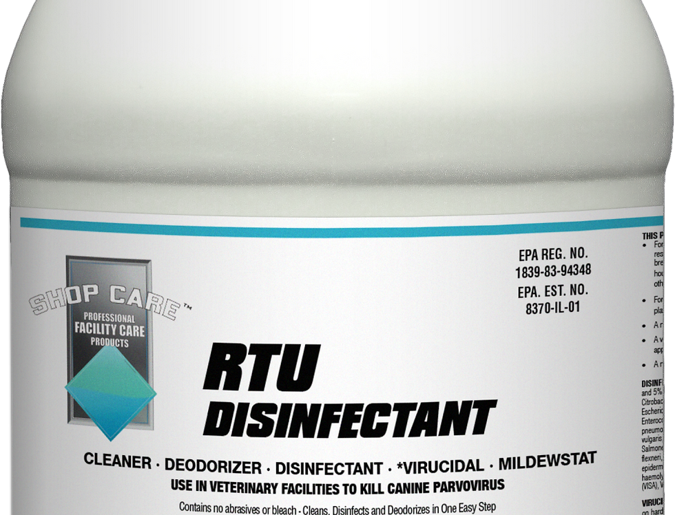 copy of Shop Care RTU Disinfectant Spray