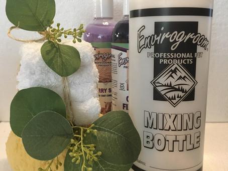 New! Envirogroom Mixing Bottles.
