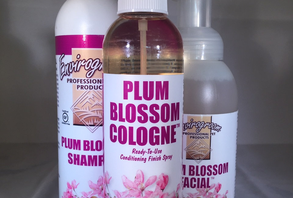 Plum Blossom 3pc. Gift Set