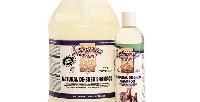 Love Da Pawz Organic Pet Shampoo Supplier Envirogroom All Natural De-Shed Shampoo