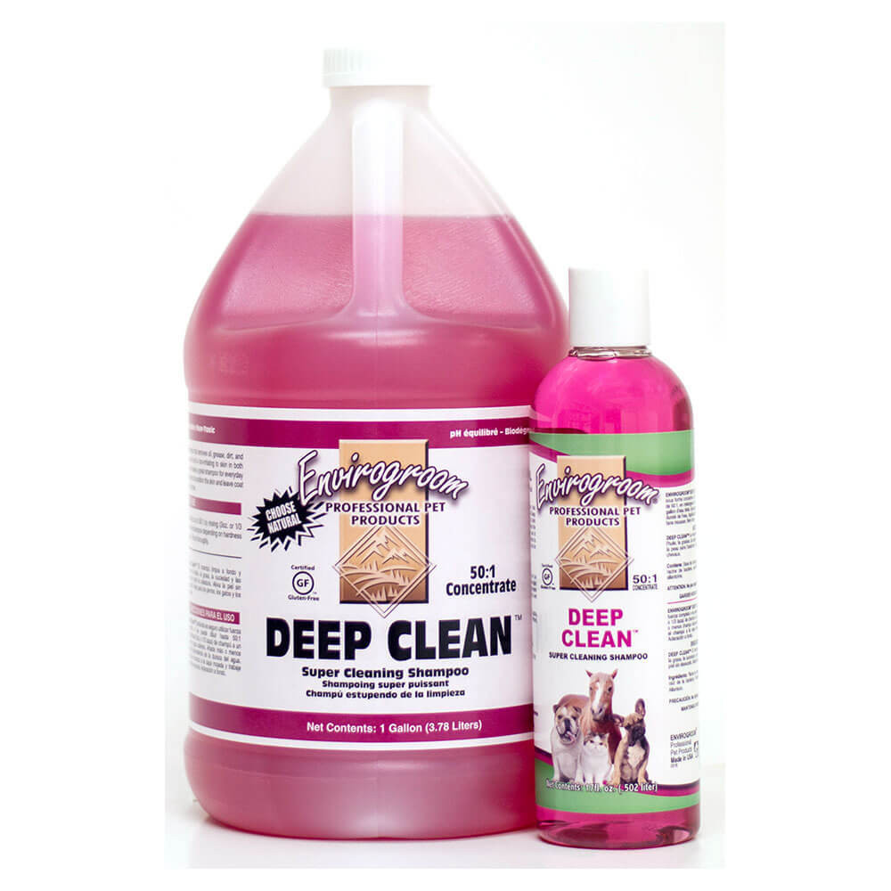 Envirogroom deep clean natural pet shampoo love da pawz