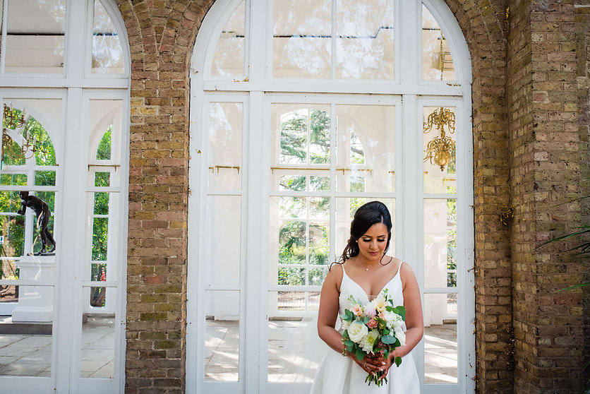 Planning your DIY Wedding - bride with f