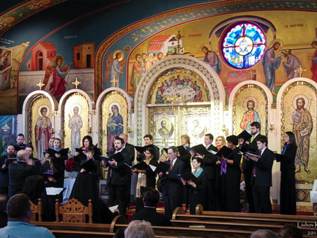St. Romanos Choir sings The Divine Liturgy on Saturday of Souls